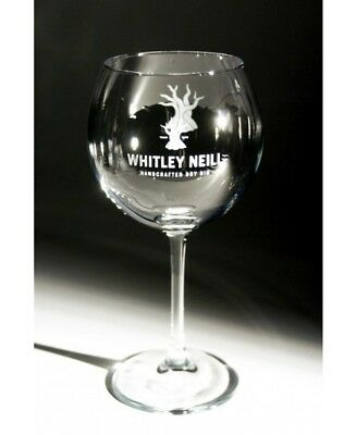 2x WHITLEY NEILL Beautiful Large Gin Balloon Glasses. New Boxed BAR Collectable