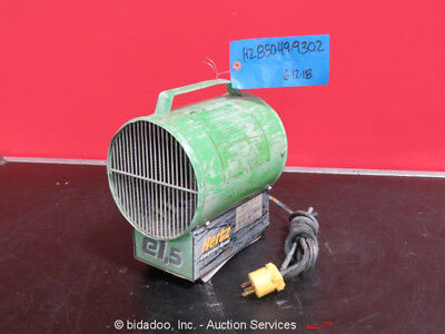 Patron E1.5 Model P1500 116 CFM Electric Space Heater Blower Fan 120V bidadoo