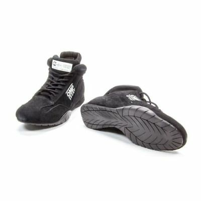 OMP Racing IC792071120 OS 50 Black Driving Shoes, Suede Leather Outer - Size 12