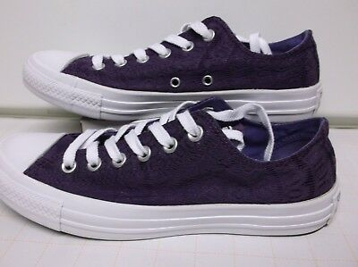 Converse All Star.. Purple..Canvas Low Top Sneakers Shoes For Women..Size 8