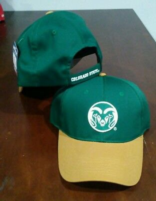 9f8e7401b20 UNDER ARMOUR NCAA Colorado State Rams Renegade Adjustable Hat Forest ...