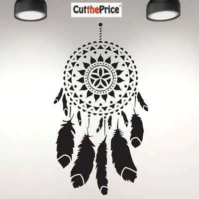 A5 A4 A3 Reusable Craft Stencil Furniture Walls Mandala Dreamcatcher 082