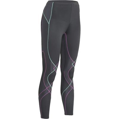 New Cw-X Women Xs Gray Stabilyx Endurance Joint Support Long Compression Tight