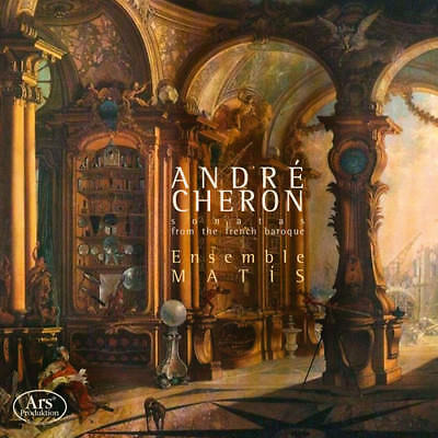 Sonatas From The French Baroque - 2 DISC SET - Cheron / Ensembl (2018, CD NUOVO)