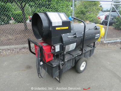 Flagro FVO-400 390,000 BTU Diesel/Oil Indirect Fired Industrial Jobsite Heater