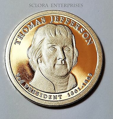 2007 S Thomas Jefferson *PROOF* Presidential Dollar Coin **FREE SHIPPING**
