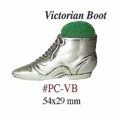 "Pin Cushion  ""Victorian Boot""   Size:  54 x 29 mm     PC-VB"