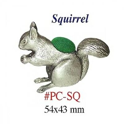 "Pin Cushion  ""Squirrel""   Size:  54 x 43 mm     PC-SQ"