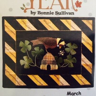 Quilting kit   Bertie's Year - March Laser-Cut Kit    BY-1323  March