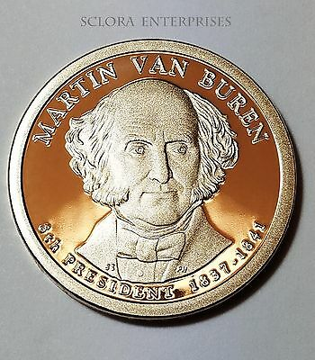 2008 S Martin Van Buren Presidential  *PROOF* Dollar Coin **FREE SHIPPING**