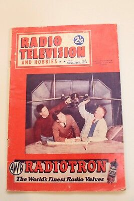 1959 - Radio Television & Hobbies Magazine - Vintage Advertising - Space Flight