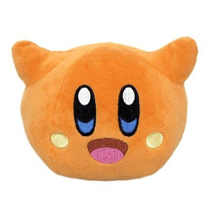 """New Little Buddy 1681 Kirby's Adventure All Star Collection Scarfy 4"""" Plush"""