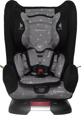 Brand New! InfaSecure Quattro Elements Convertible Car Seat - Grey