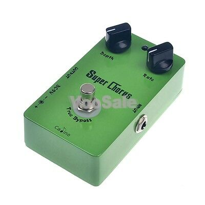 Caline CP-13 Super Chorus Guitar Effect Pedal True Bypass With A Sturdy Casing.
