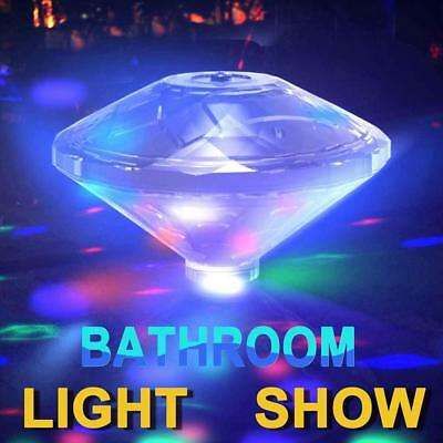 """Underwater LED Glow Light Show Swimming Floating """"Disco Ball"""" for Pool Spa Pond"""