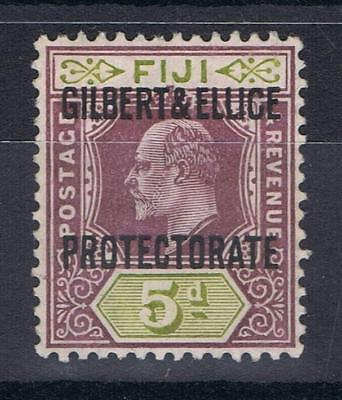 Gilbert and Ellice Islands 1911 5d Definitive SG 5 Mint MH