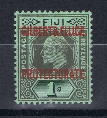 Gilbert and Ellice Islands 1911 1/- One Shilling Definitive SG 7 Mint MH