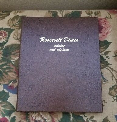 1946-1988 Complete Set Of Roosevelt Dimes with Proofs & Type 2 coins.