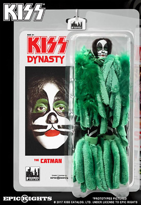 """KISS 8"""" Action Figure series 8 Dynasty """"The Catman""""  MINT Peter Criss"""