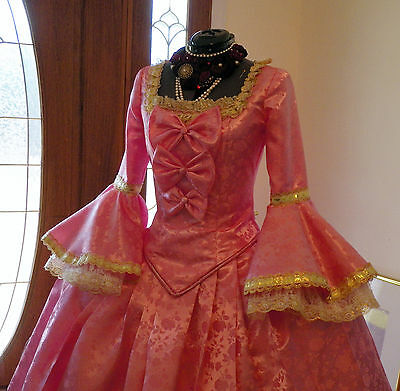 Marie Antoinette Colonial Beethoven Waltz Masquerade Victorian Dress Costume