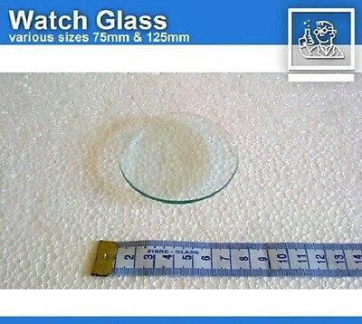 watch glass 125mm x 2 dish crystal chemistry - fast local delivery