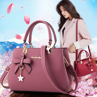 Women Lady Leather Handbag Shoulder Messenger Satchel Tote Crossbody Bags Purse