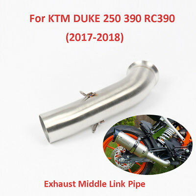 Motorcycle Exhaust Connect Link Pipe Middle Mide Tube for KTM DUKE 390 250 RC390
