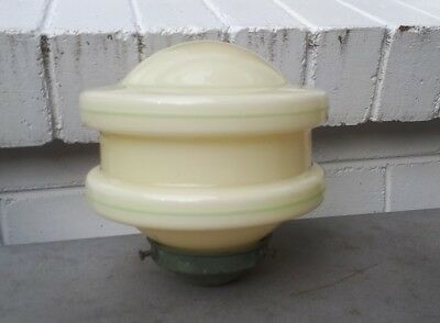 Vintage Deco Tiered Glass Light Shade With Period Gallery