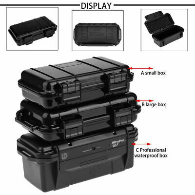 Waterproof Shockproof Box Plastic Outdoor Survival Container Storage Case Box GL