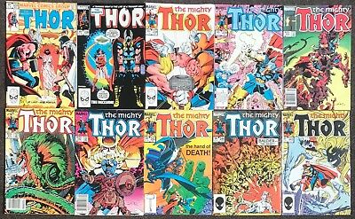 The Mighty Thor #335,336,338,339,340,341,342,343,344,345 1980 Stormbreaker Lot