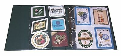 20 Inserted For Album Binder Coasters Of Beer 6 Pockets