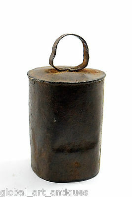Rare Vintage Old Collectible Unique Iron Cow/Sheep Bell Nice Decorative. G70-69