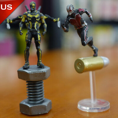 US! Ant-Man and the Wasp Avengers Infinity War Action Figure Mini Model Dolls
