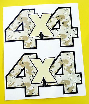 4X4 OFF ROAD STICKERS DECALS 'DESERT CAMO 'ideal for Land Rover Defender