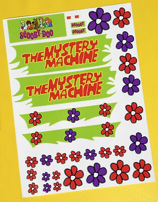 Tamiya Lunch Box Mystery Machine Stickers Decals Ideal for any 10th scale RC!
