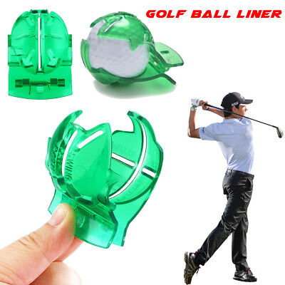 Golf Ball Line Clip Liner Marker Template Drawing Alignment Marks Putting Tools