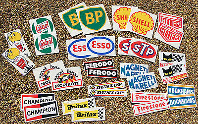 Classic Car Rally/Race HUGE 32 sticker decal set Mini cooper, Morris, MG AUSTIN