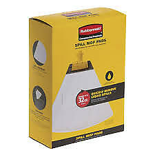 Rubbermaid Commercial Products Spill Mop Pads 10 Pk Replacement Mop Head 2017059