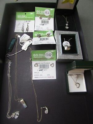 Silver Jewellery Job Lot     #/ga/wbr B24 Jt