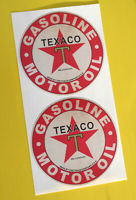 Texaco Sticker Decal Car retro Workshop garage Toolbox