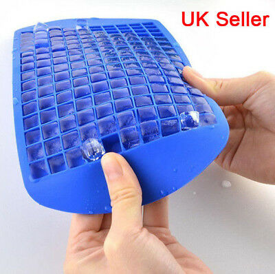 Silicone 160 Cavity Mini Square Block Ice Cube Tray Maker Mold Mould Cool Drink
