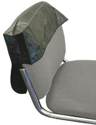 "DMI Black 18"" Hairdressing Chair Back Cover Protector Flexible Fit & Barbering"