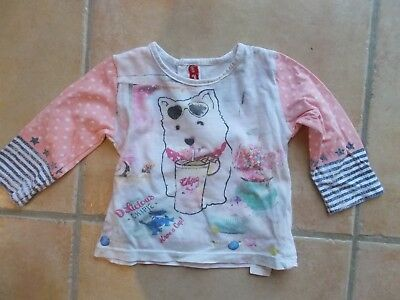 tee shirt fille manches longues chipie 6 mois