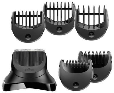 Braun BT32 Series 3 Electric Shaver Beard Trimmer Attachment 5 Combs /Brand New