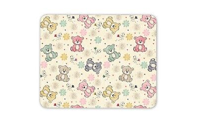 Cute Teddy Bears Mouse Mat Pad - Kids Boys Girls Pregnancy Gift Computer #13197