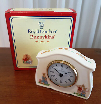 Royal Doulton Bunnykins Clock Limited Edition of 1,000 Signed by Michael Doulton