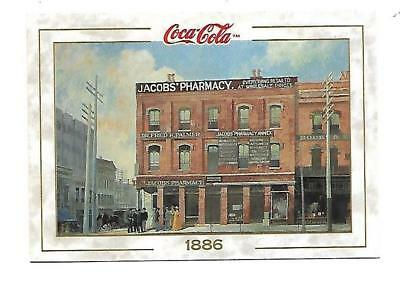 Coca Cola Collection  (1993) 1886 # 2 Jacobs' Pharmacy Atlanta First Coke Served
