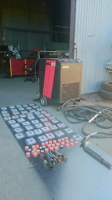 MAX100 plasma cutter with machine torch an  a lot off consumables