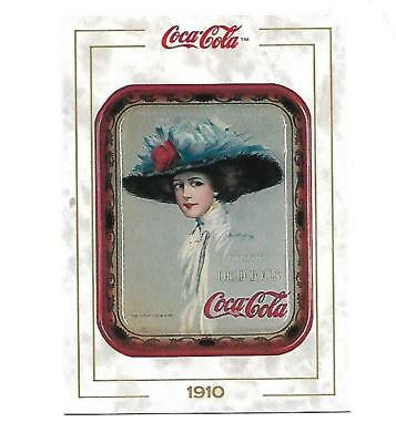 Coca Cola Collection (1993) 1910 # 16 Serving Tray Hamilton King Lady Hat Card