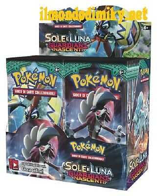 Pokemon Sole e Luna GUARDIANI NASCENTI box da 36 buste italiano